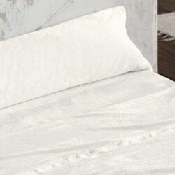 Juego de Sábanas cama 150 de coralina burrito Blanco
