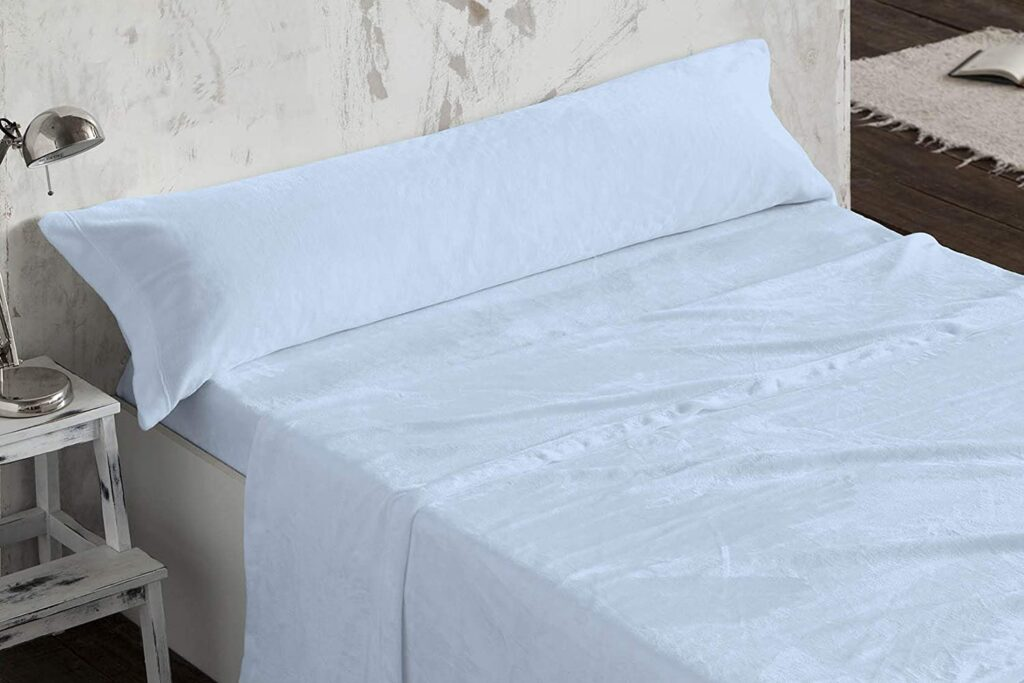 Sabanas de Coralina Burrito Blanco cama 150