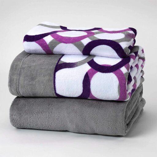 set de sabanas polares de coralina para camas individuales