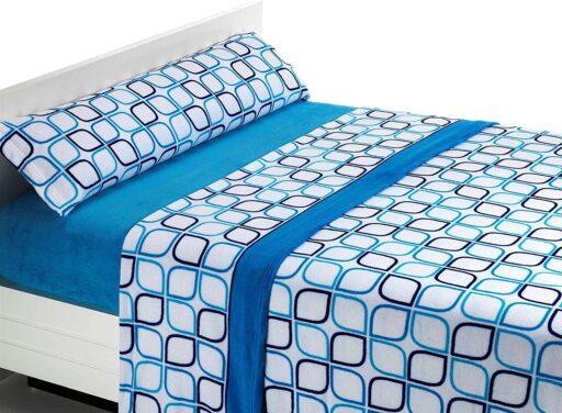 sabanas termicas de coralina para camas individuales