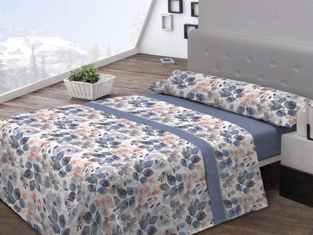 Juego Sábanas de Coralina para camas 150 cm