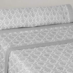 juego sabanas franela cama 150 de algodon