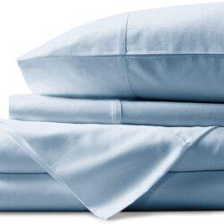 Juego de Sábanas cama 150 colección hotel de satén de algodón egipcio de 800 hilos