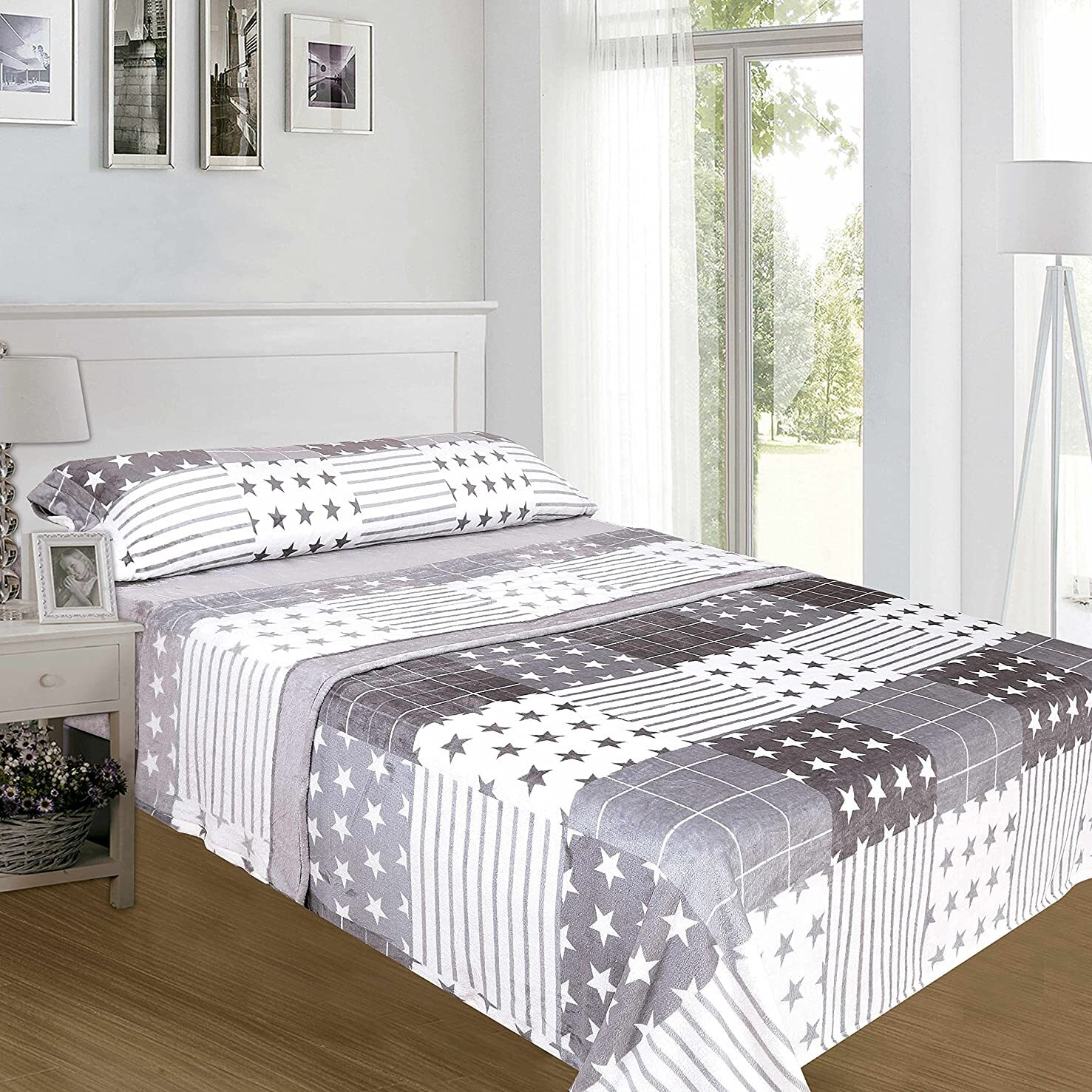 juego de sabanas sedalina para cama de 90 de 250g/m2