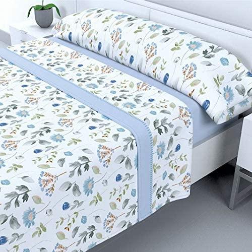 Juego de sabanas de sedalina para cama de 135 y 150 de 200g/m2