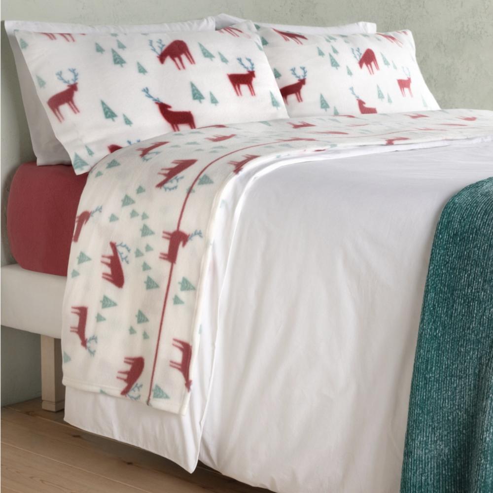 conjunto de sabanas polares o pirineo para cama del Corte Ingles