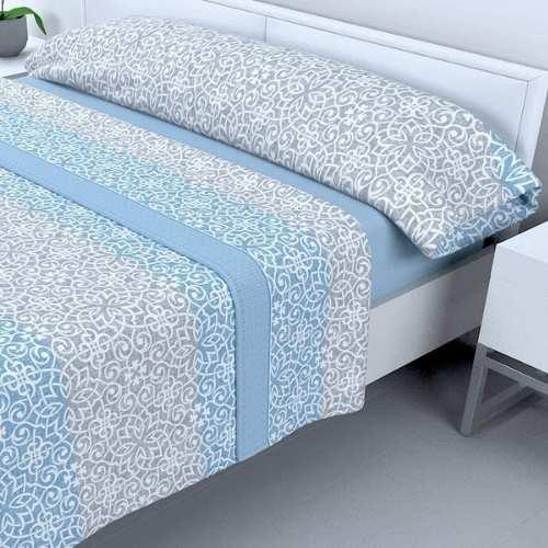 sabanas sedalina suaves y abrigadas en color azul