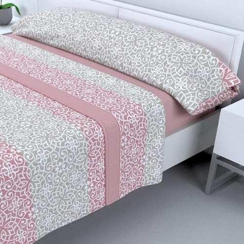 sabanas sedalina de calidad estándar tacto seda color rosa